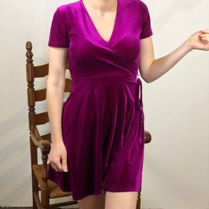 Jewel Colored Velvet Dress